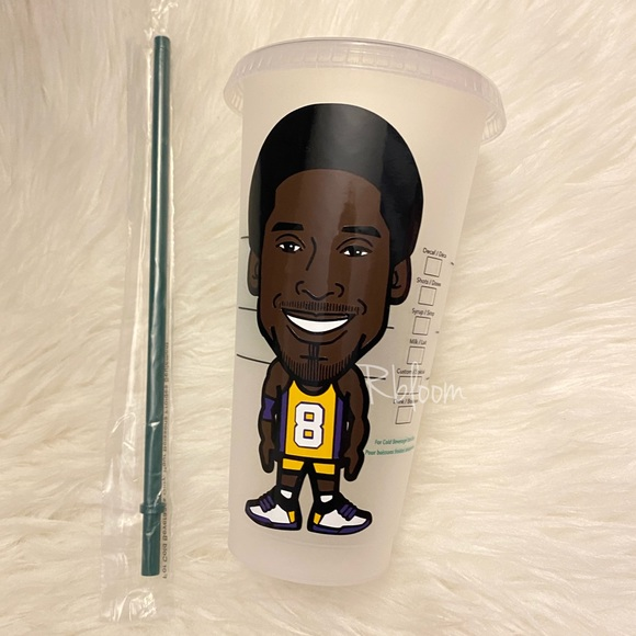 Starbucks Accessories Lakers Kobe Bryant Cold Cup Poshmark